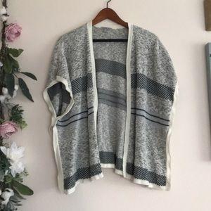 Charlotte Russe shawl geometric pattern stripe